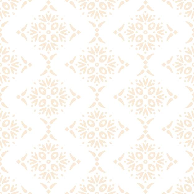 Modello senza cuciture di design mandala ornamentale di lusso in colore oro