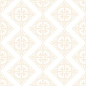 골드 컬러로 럭셔리 장식 만다라 디자인 완벽 한 패턴