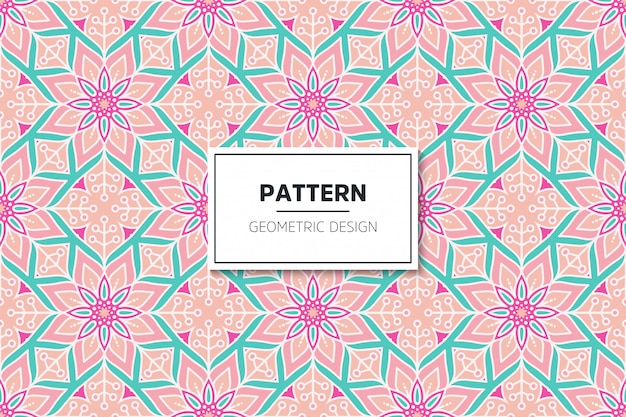 Luxury ornamental mandala design seamless pattern