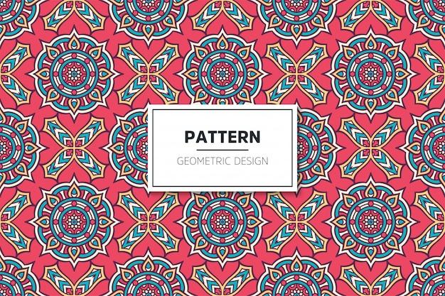 Luxury ornamental mandala design seamless pattern