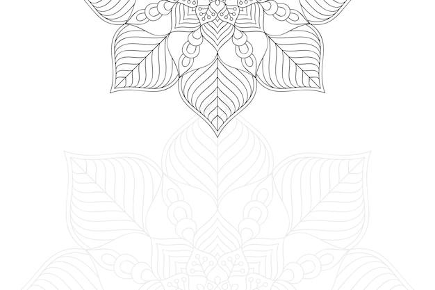 豪華な装飾用曼荼羅デザイン