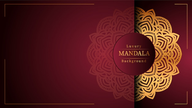 Luxury ornamental mandala luxury ornamental mandala background