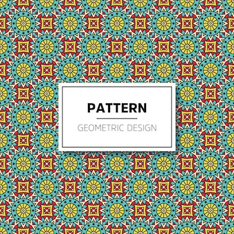 Luxury ornamental mandala pattern background