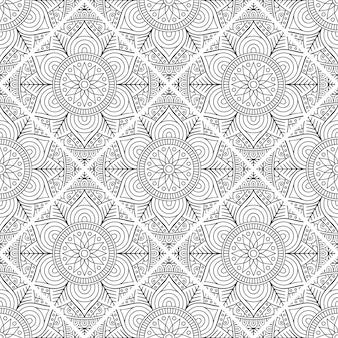 Luxury ornamental mandala pattern background