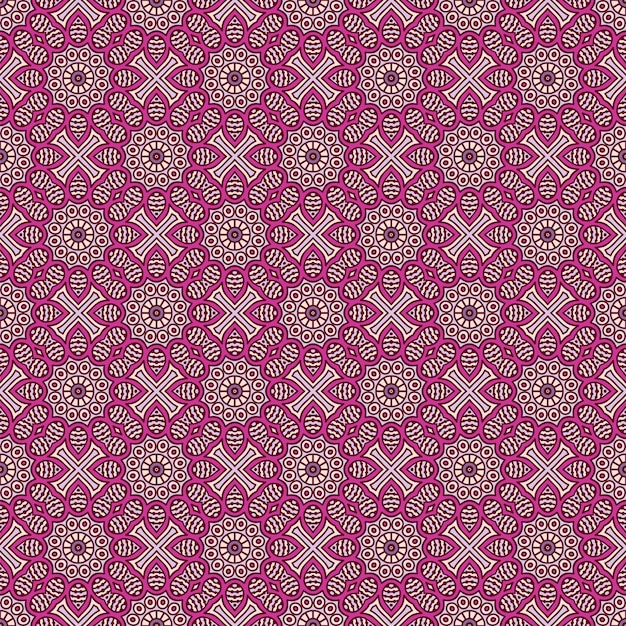 Luxury ornamental mandala pattern