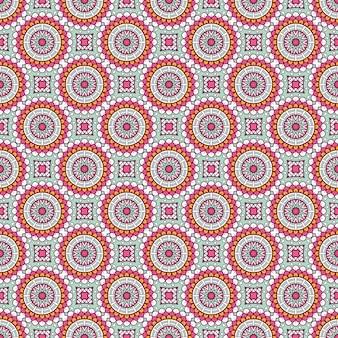 Роскошный орнаментальный узор мандалы