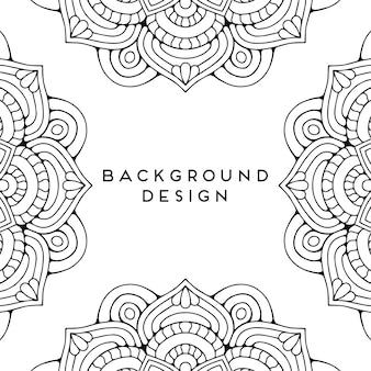 Luxury ornamental mandala  seamless pattern design