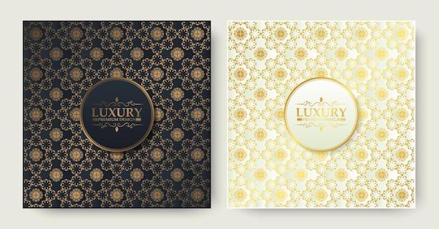 Luxury ornamental pattern texture background