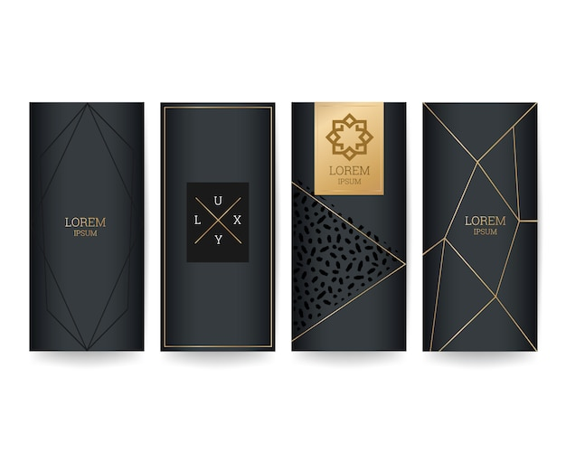 Luxury packaging design cover