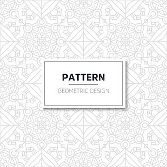 豪華なパターンのマンダラデザイン