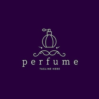 Luxury perfume logo