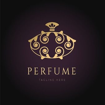 Luxury perfume logo