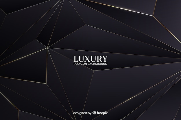Luxury polygon background