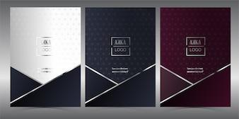 Luxury Premium Cover Menu Geometric