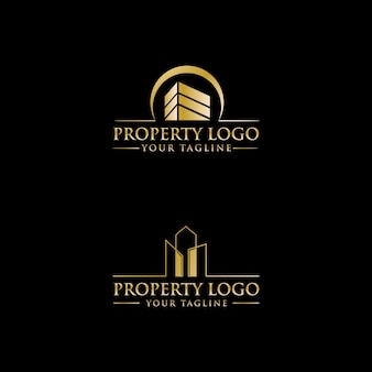 Luxury property logo