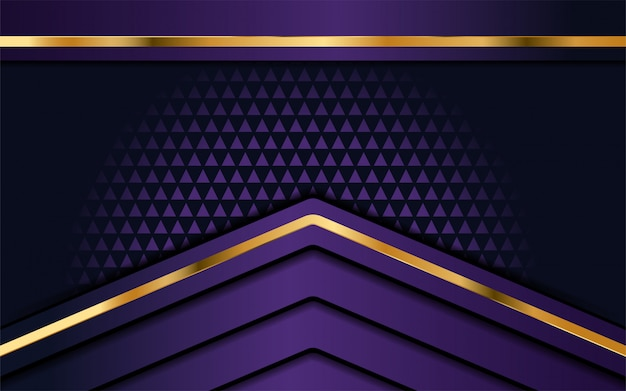 Luxury purple background with overlap layer