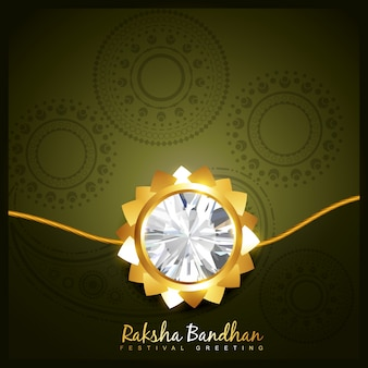 Luxury raksha bandhan design