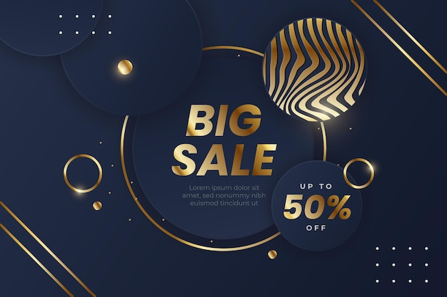 Luxury sale background