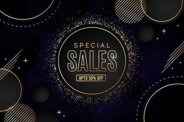 Роскошный фон продажи
