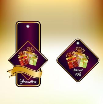 Luxury sales labels