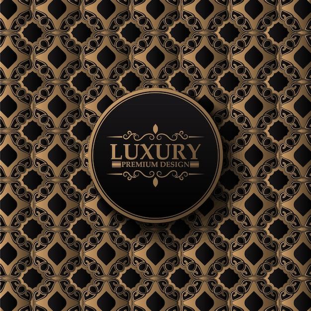 Luxury seamless pattern decorative vintage style