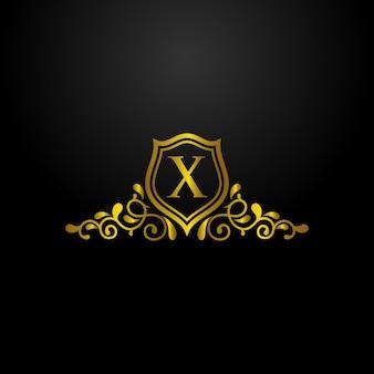 Luxury shield logo