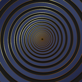 Luxury spiral background
