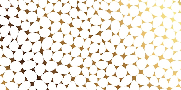 Luxury stone pebble mosaic seamless pattern
