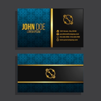 Luxury style for business card