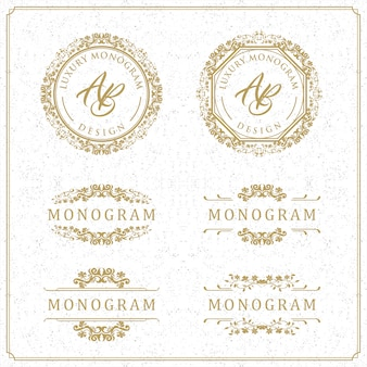 Luxury template design for wedding and decoration