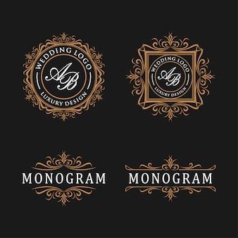 고급 템플릿 로고 디자인