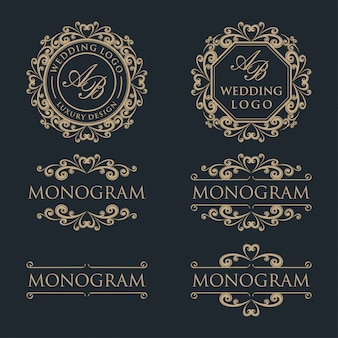 Luxury template logo design
