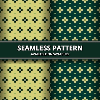 Luxury traditional indonesia batik seamless pattern background wallpaper in classic style. set in blue color