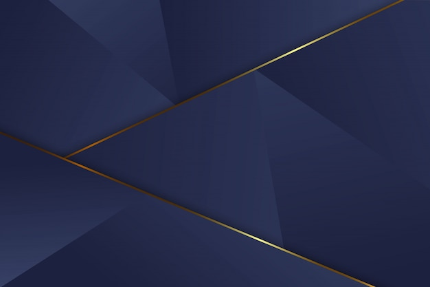 Luxury triangle background