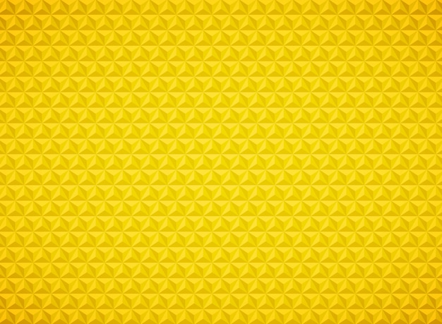 Luxury triangle geometric pattern gold background