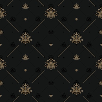 Luxury vintage background for elegant design. background vintage, pattern decoration seamless. vector illustration