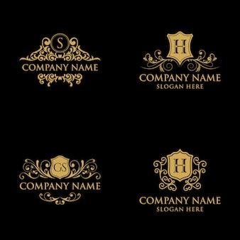 Luxury vintage logo collection