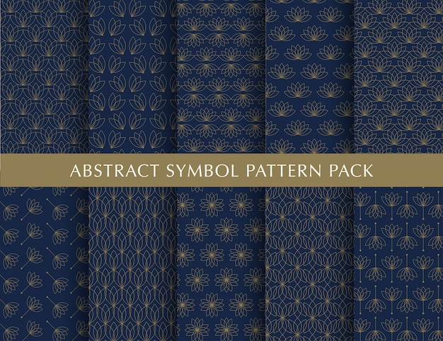 Luxury  vintage pattern pack