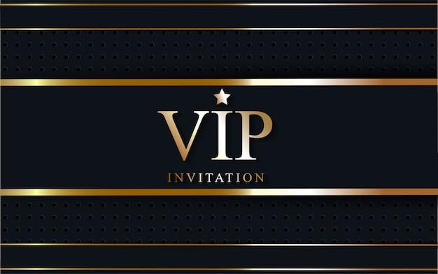 Luxury vip on golden line.