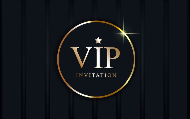 Luxury vip invitation background.