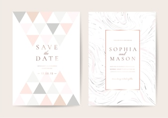 Luxury Wedding invitation card