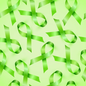 Lymphoma cancer ribbon isolated seamless pattern.
