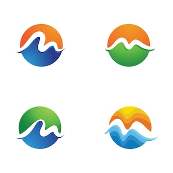 M letter icon vector illustration