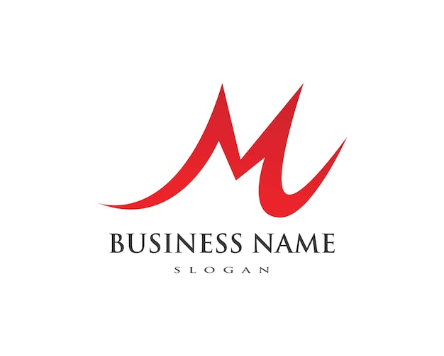 Логотип m letter Premium векторы