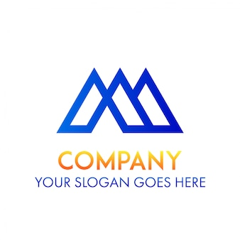 M logo business