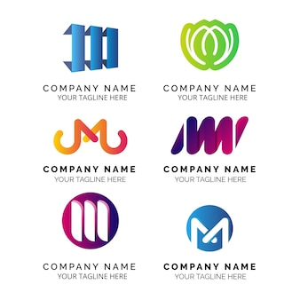 M logo collection