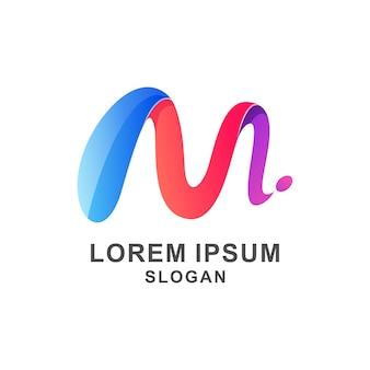 M logo colorful