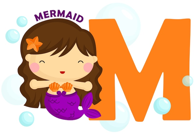 M for mermaid