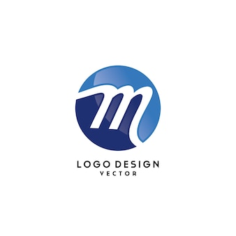 M symbol company logo design