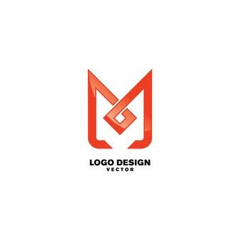 M symbol logo design